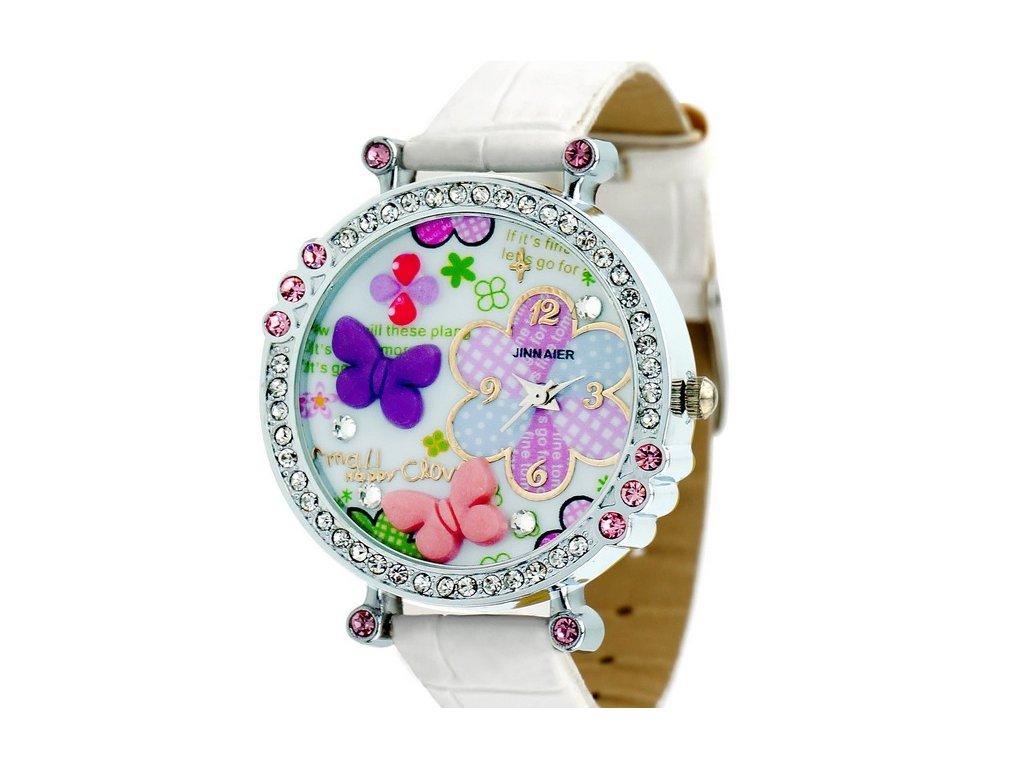2600d6445 módne hodinky Dievčenské s motýlikmi ...