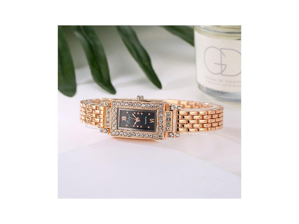 e257aeae7d4 Elegantné hodinky Zn. LVPAI II - ružové zlato - myElegans.sk