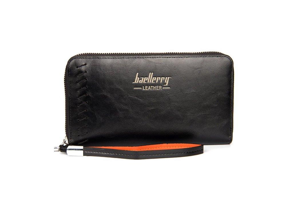 Atraktívna veľká peňaženka dámska pánska - čierna - myElegans.sk 37c7202f2d7