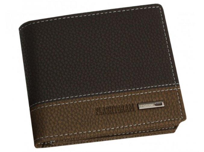 Pánska peňaženka Flashygram - coffee