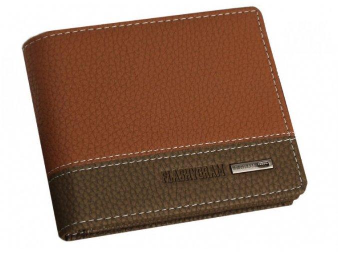 Pánska peňaženka Flashygram - hnedá