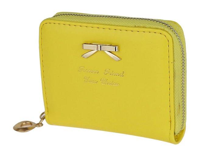 zlta peňaženka