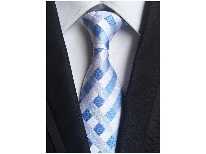 Kravata modra svetlá