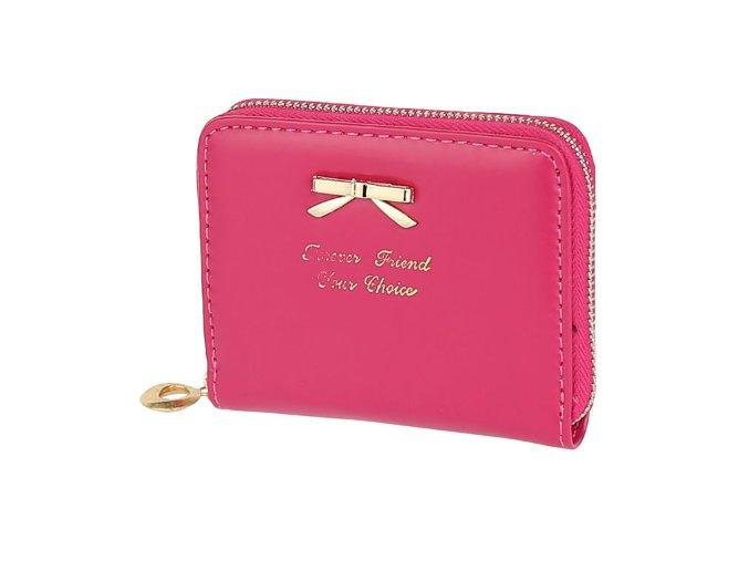 malá ruzova peňaženka