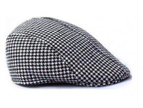 Pánska / dámska čiapka bekovka Apparel - čierno biela