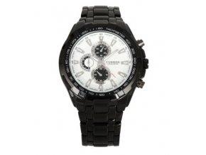 hodinky Curren 8023, celokovové čierno - biele