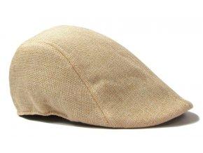 Pánska / dámska čiapka bekovka - piesková