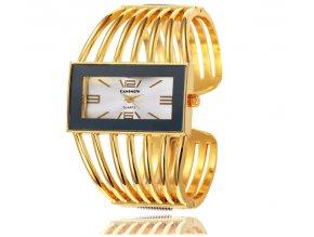 02a214ad31d Atraktívne módne dámske hodinky Cansnow zlaté - myElegans.sk