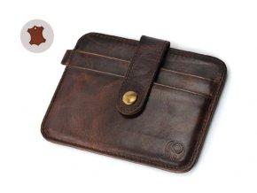 Pánska peňaženka z pravej kože, hnedá