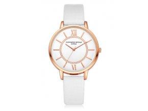 Elegantné hodinky Zn. Lvpai - biele