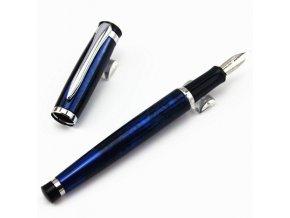 Atraktívne písacie potreby: Plniace pero Baoer - modré
