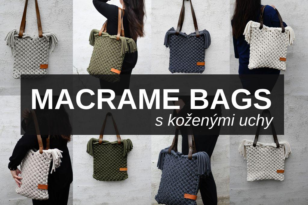 Macramé kabelky .... pro velký holky