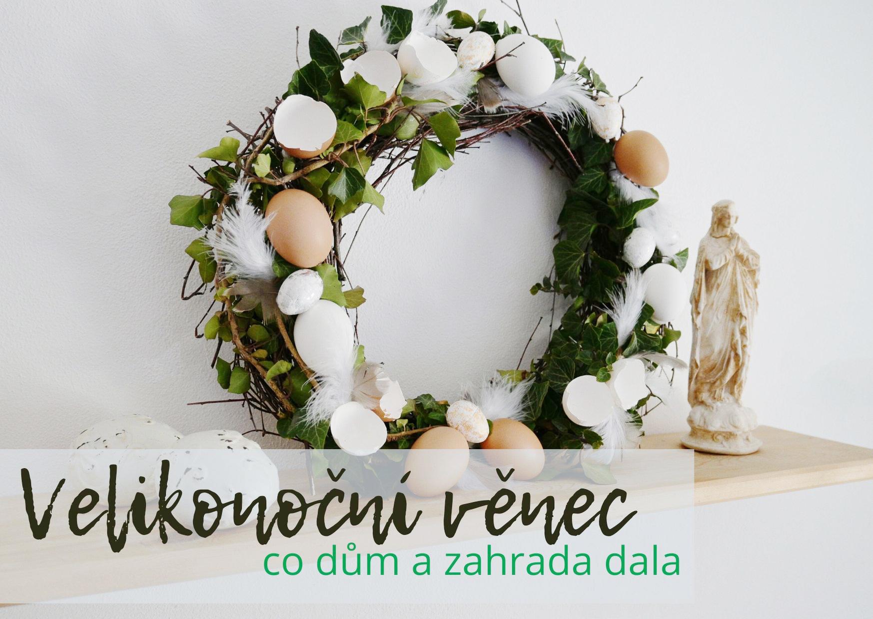 Velikonoční věnec krok za krokem
