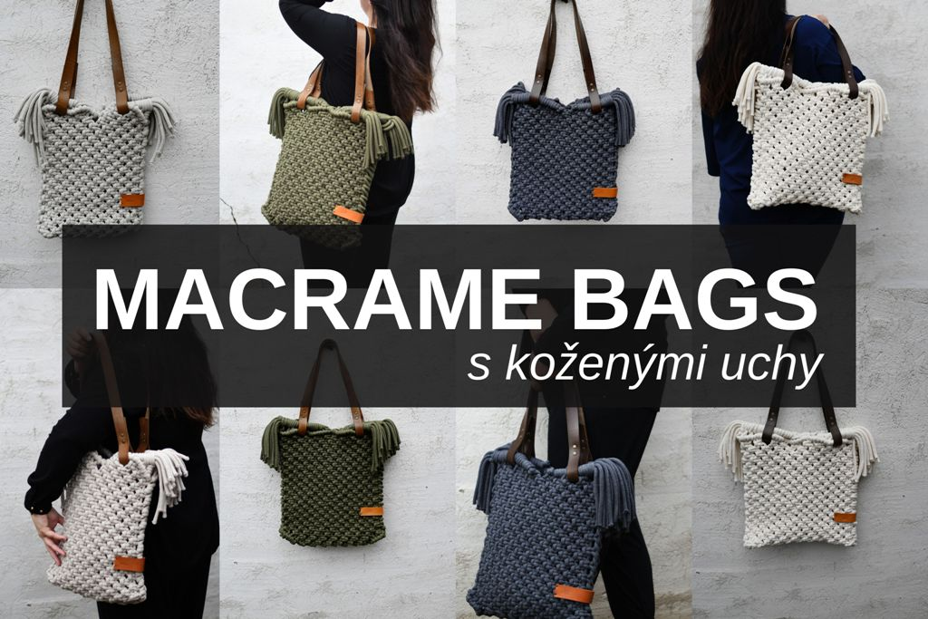 Macrame kabelky