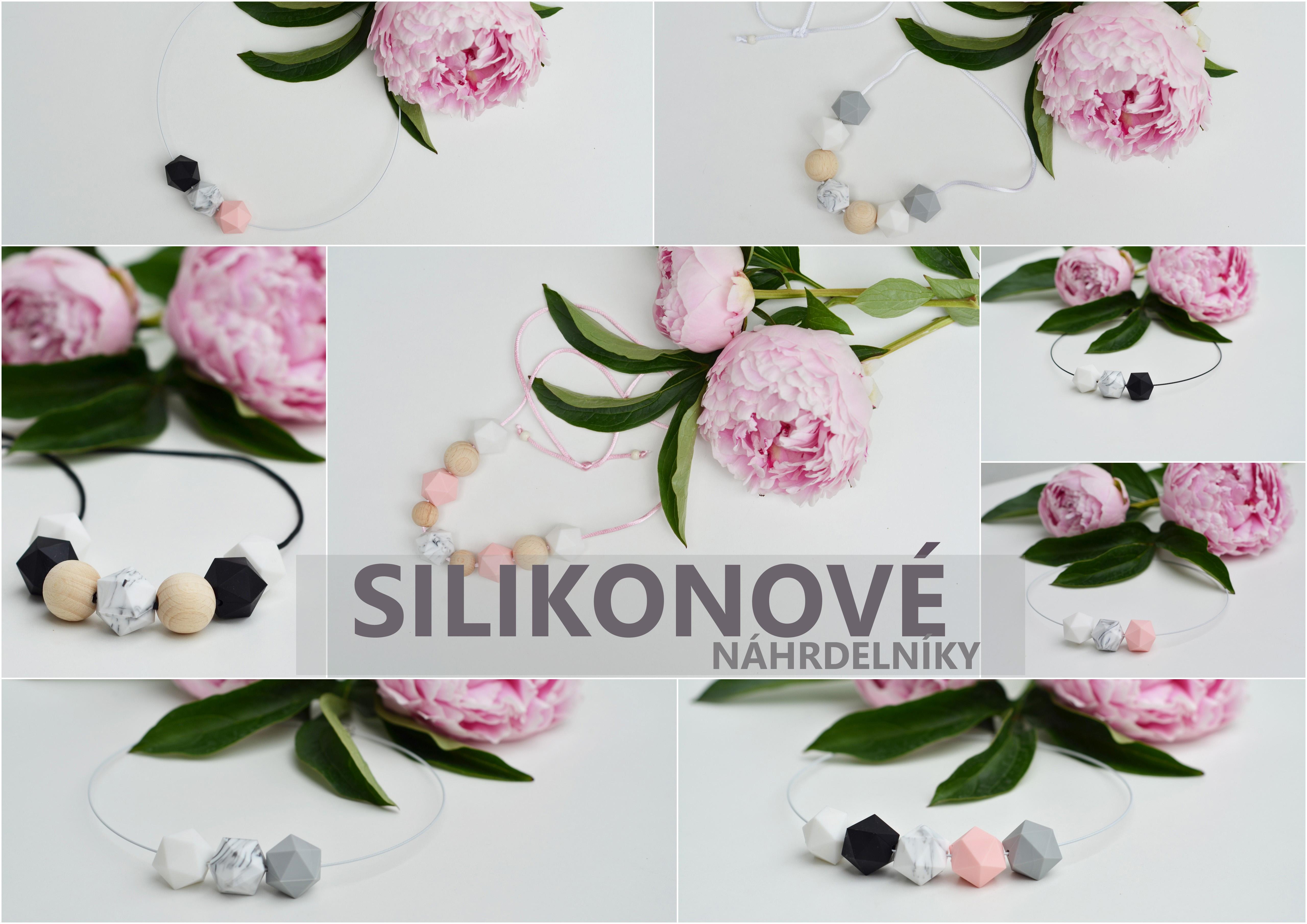 Silikonové náhrdelníky