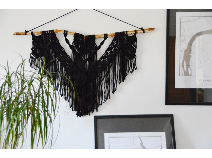 Macramé BLACK SHORT