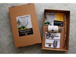Macramé DIY kit (tvořivý set na výrobu macramé + návod)