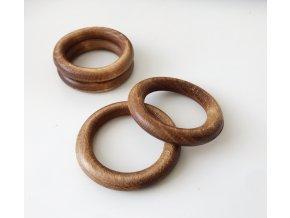 Dřevěný kroužek DUB - průměr 50 mm (vnitř. průměr 35 mm)