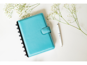 Kožený zápisník klasický