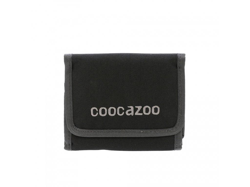 CooCaZoo textilní peněženka cashdash černá