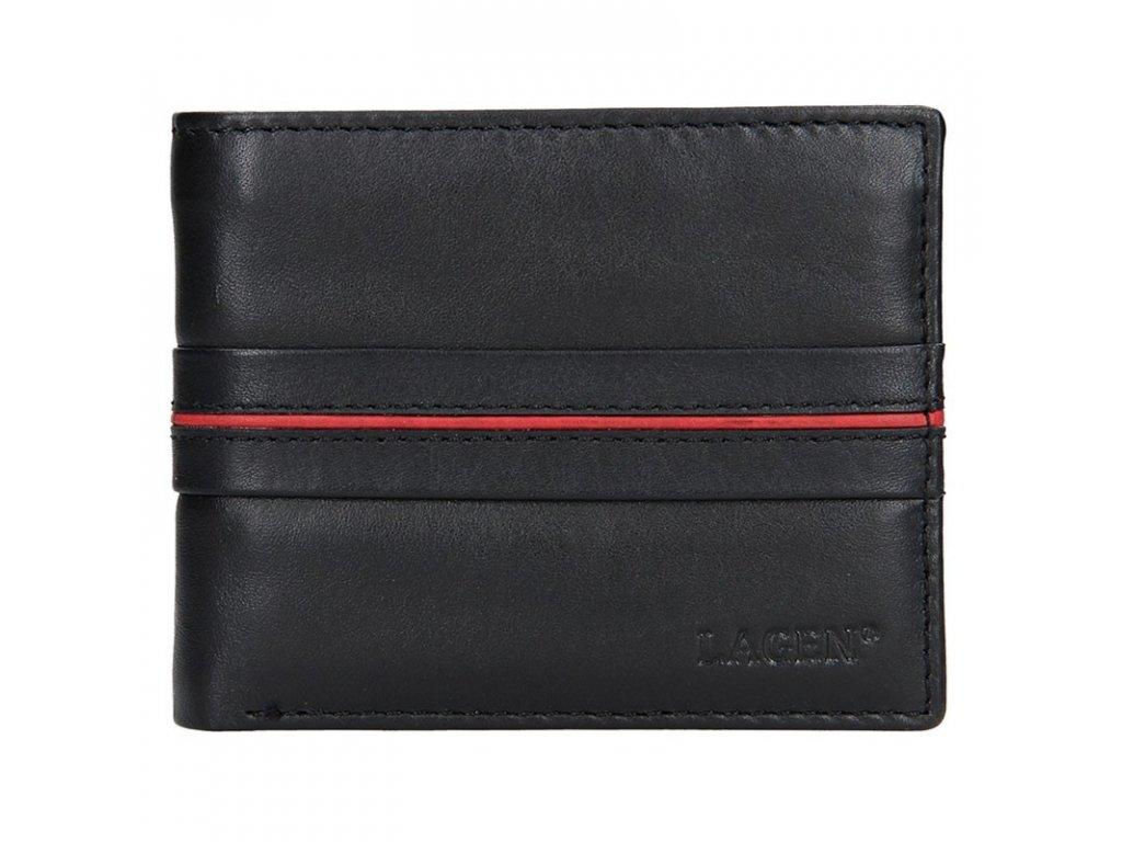 Lagen pánská peněženka černá/červená