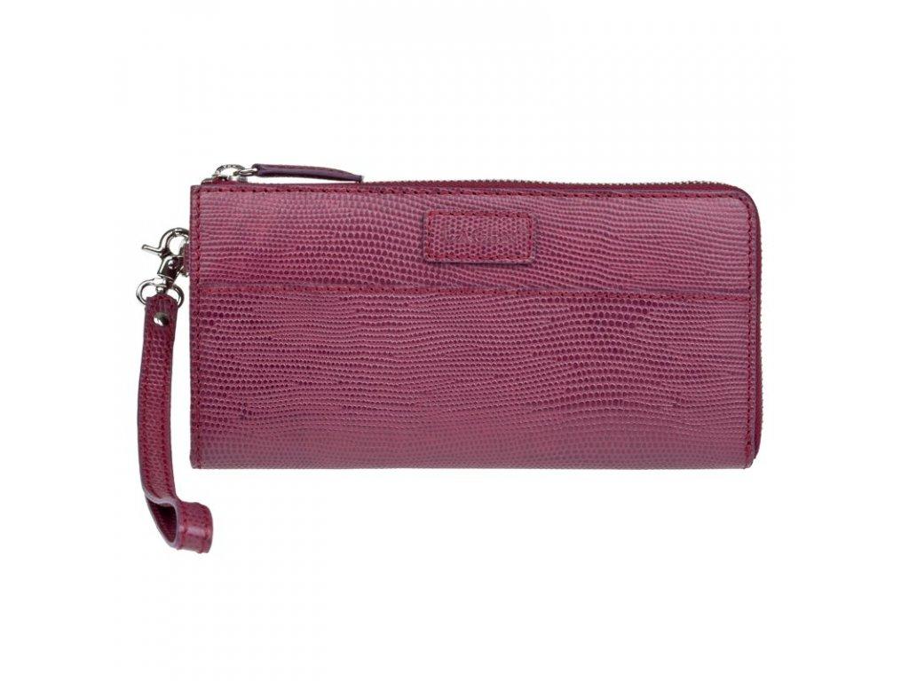 Dámská peněženka Lagen kožená bordó