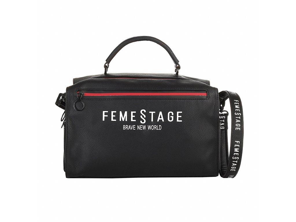 Trendy kabelka FEMESTAGE černá