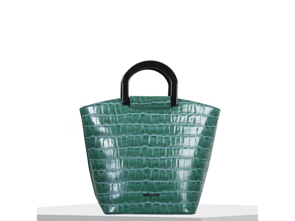 Kabelka Bulaggi Croc bucket zelená