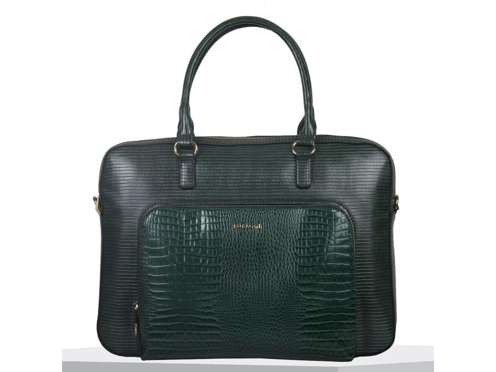 Pracovní kabelka Bulaggi Liatris laptopbag zelená