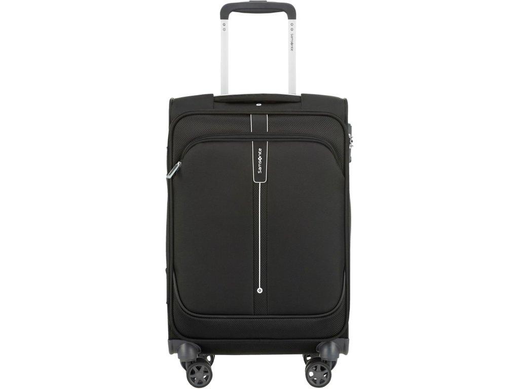 Kabinový kufr Samsonite POPSODA SPIN.55/20 - černý