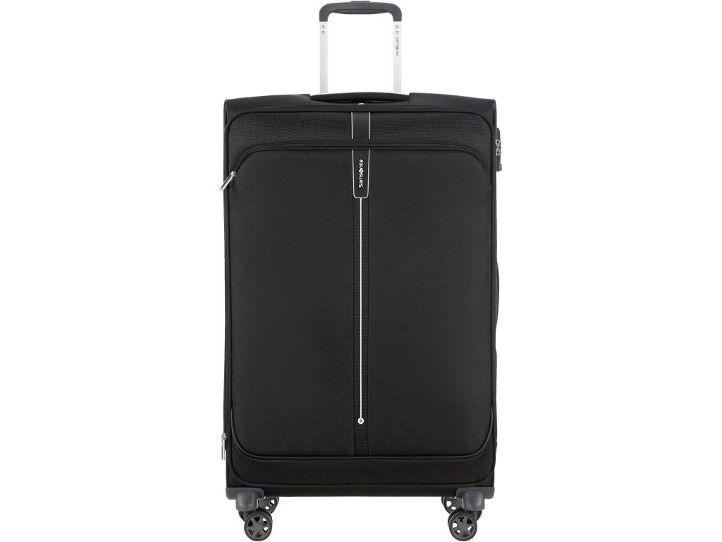 Látkový kufr Samsonite POPSODA SPINNER 78 - černý