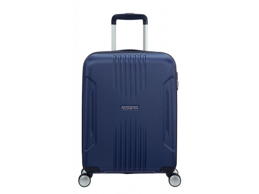 Příruční kufr American Tourister TRACKLITE 55/20 - modrý