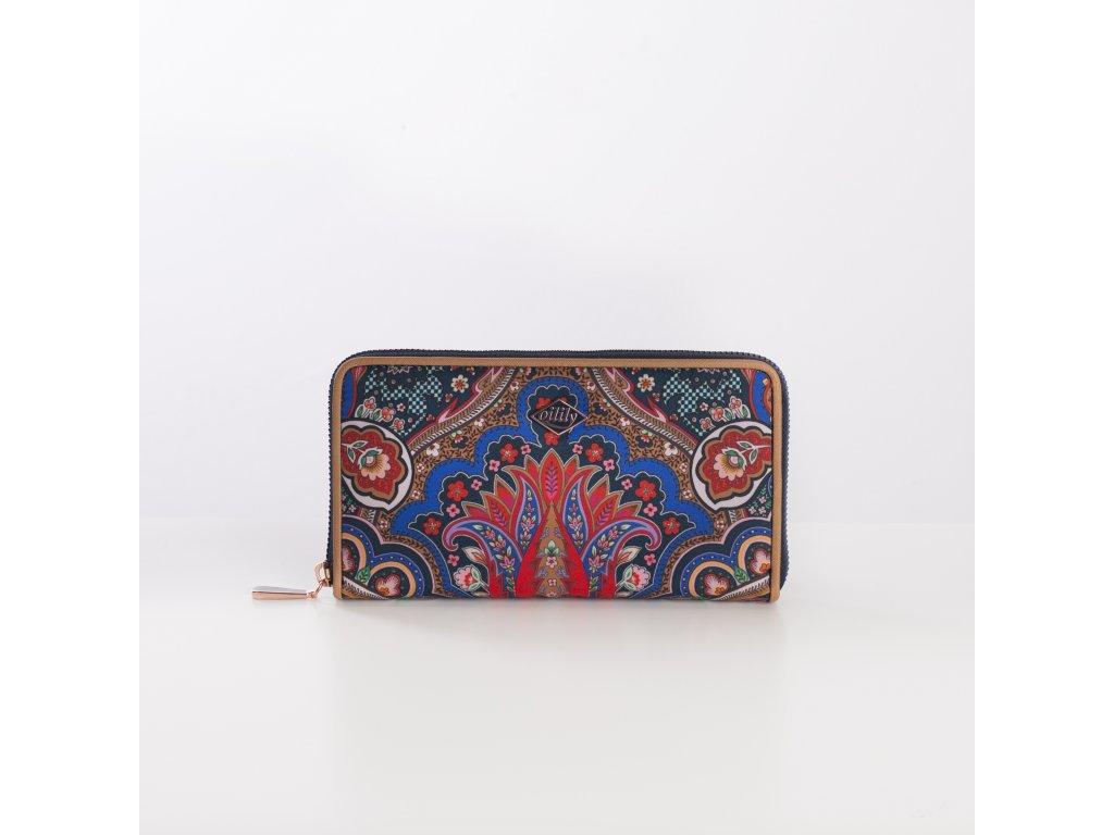Oilily Paisley peněženka modrá