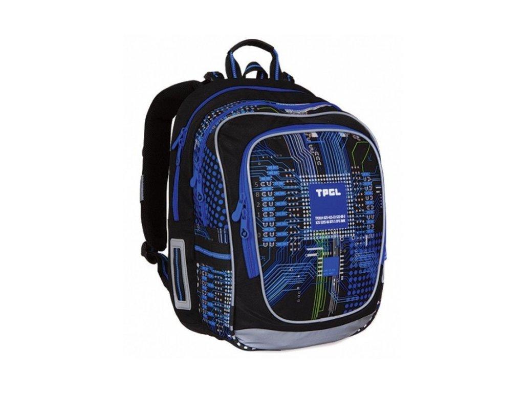 Topgal  školní  batoh pro kluky - modrý