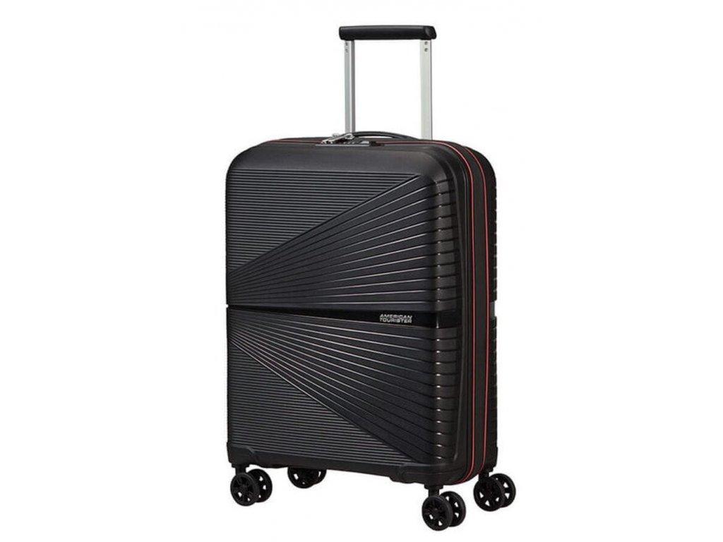 American Tourister kabinový kufr Airconic Neon Pink 33,5 l černý