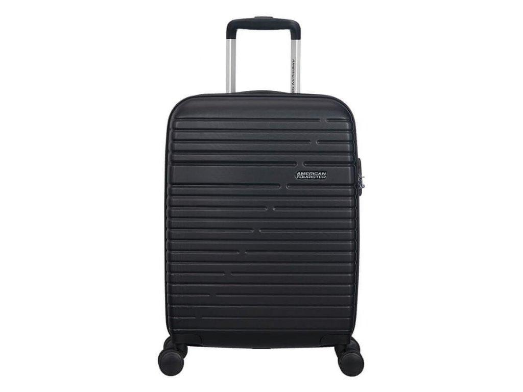 Kabinový cestovní kufr American Tourister AERO RACER SPIN.55/20 37 L - černá
