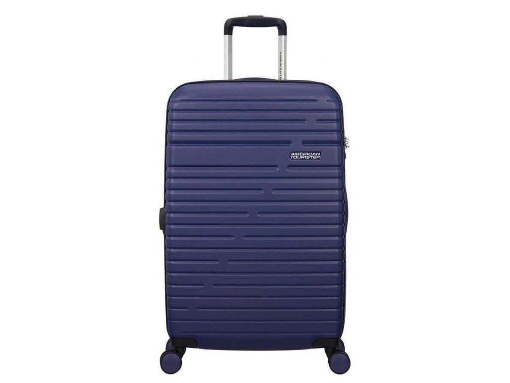 Cestovní kufr American Tourister AERO RACER SPIN.68/25 modrý