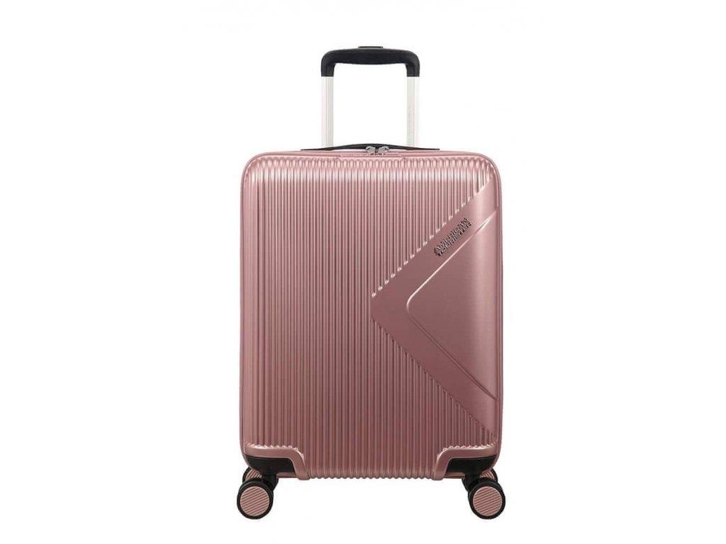 Kabinový kufr American Tourister MODERN DREAM SPIN 55/20 - starorůžová