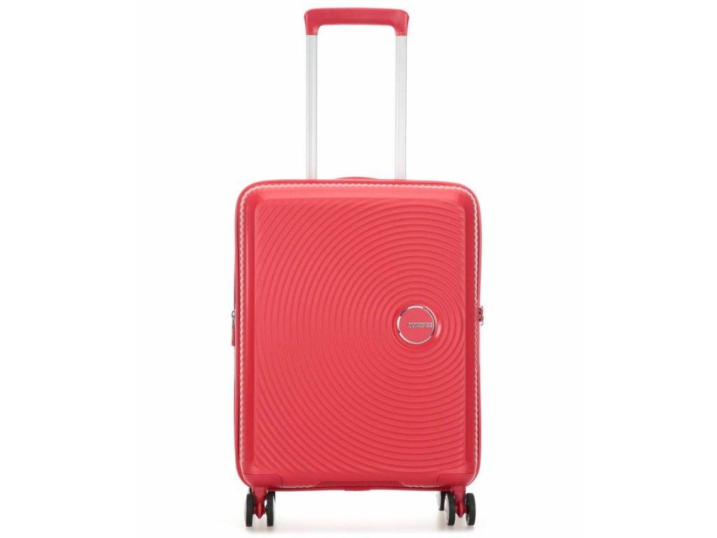 american tourister soundbox kufr se 4 kolecky koralova 55 cm 88472 1226 31
