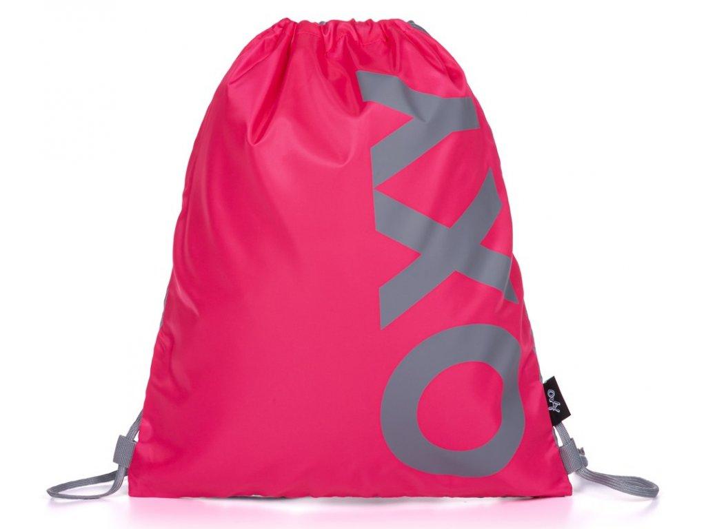 studentsky vak na zada oxy neon pink