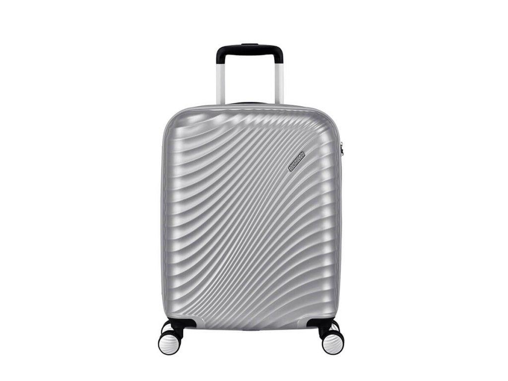 Kabinový kufr American Tourister JETGLAM SPIN.55/20 TSA - Silver