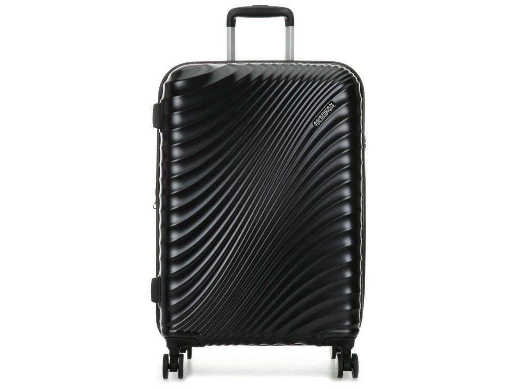 american tourister jetglam spinner 4 wheels metallic black 67 cm 122817 2368 31