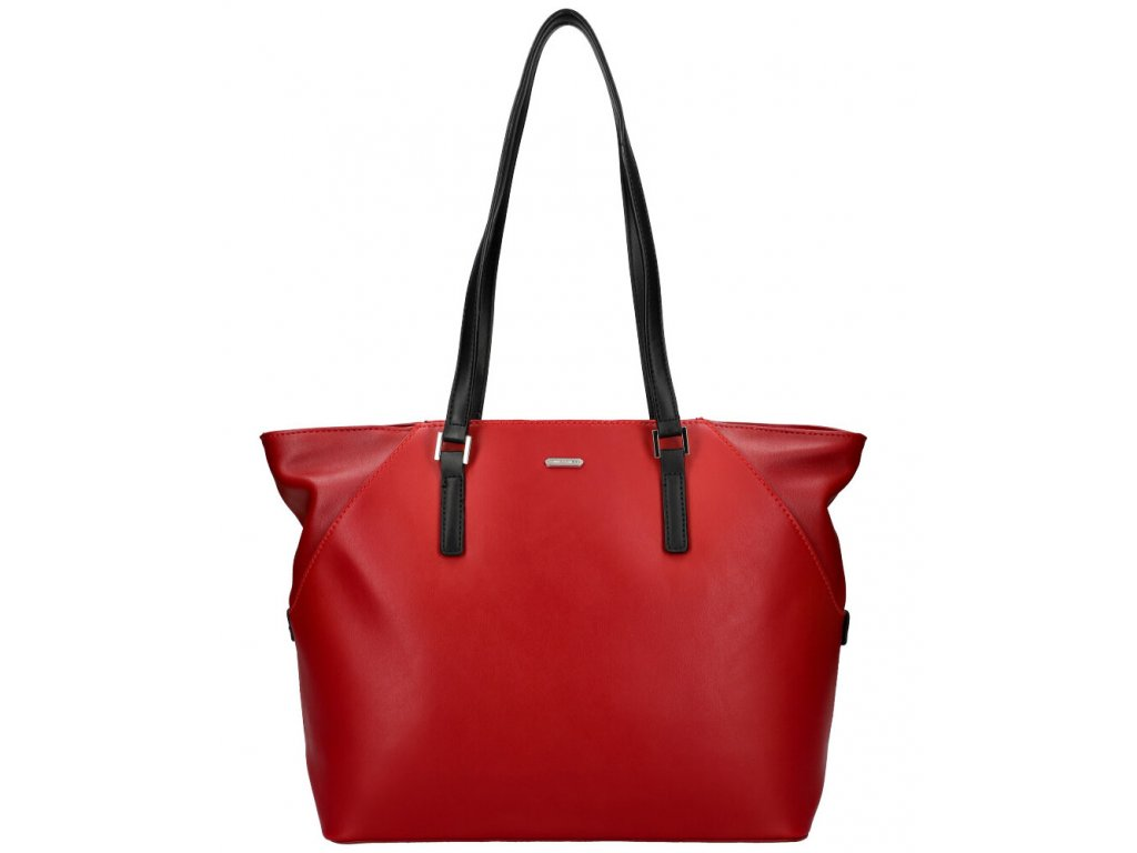 david jones červená damska kabelka pres rameno 5831 990, 1230470