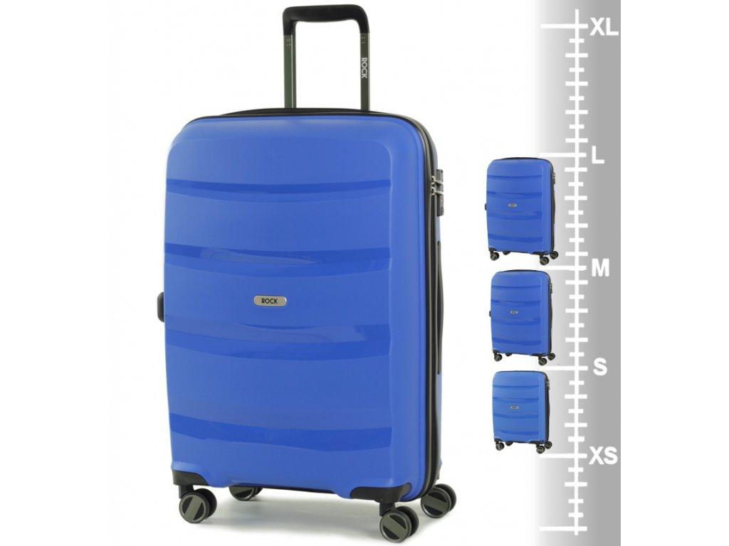 Cestovních kufr ROCK Torrance modrý