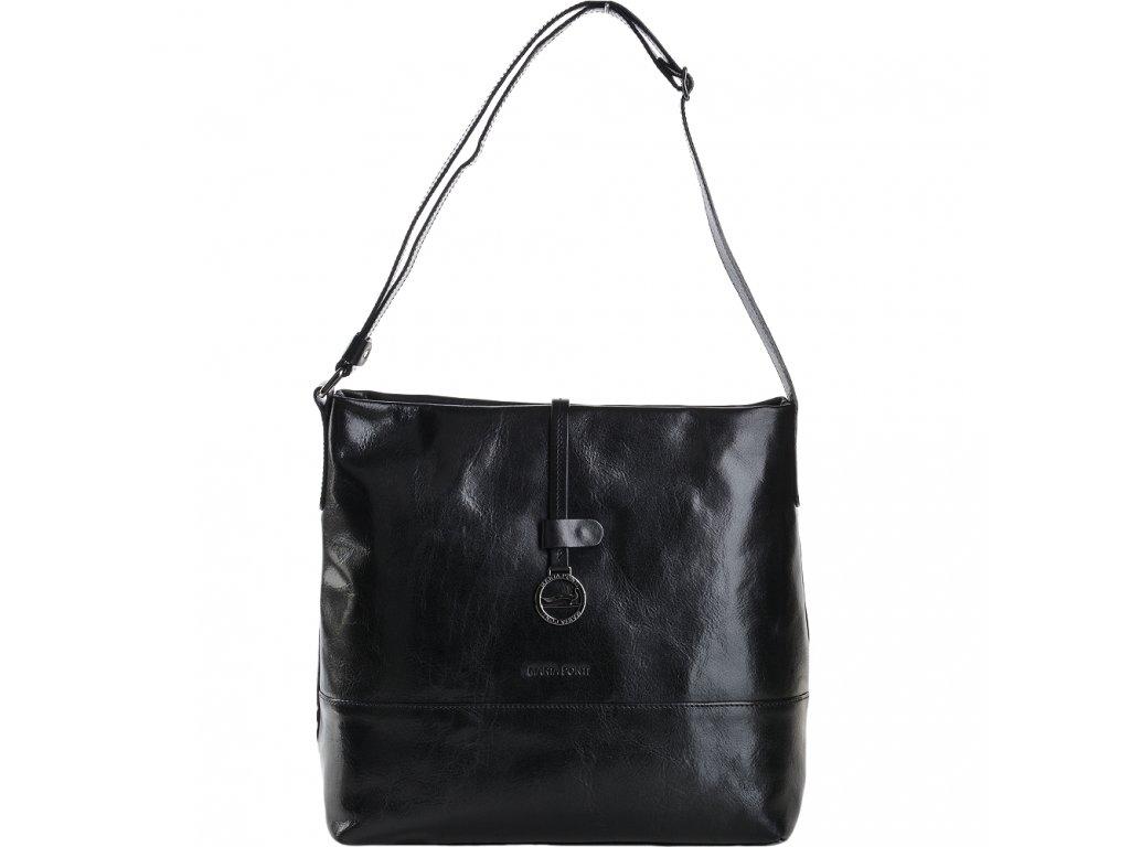 marta ponti medium italian leather shoulder bag black 8106108 p2202 9864 image