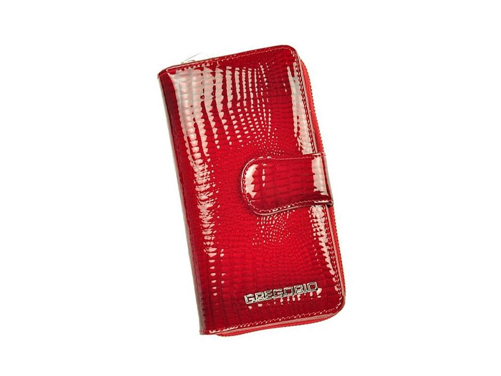0009135 damska kozena penezenka gregorio gf 116 cervena