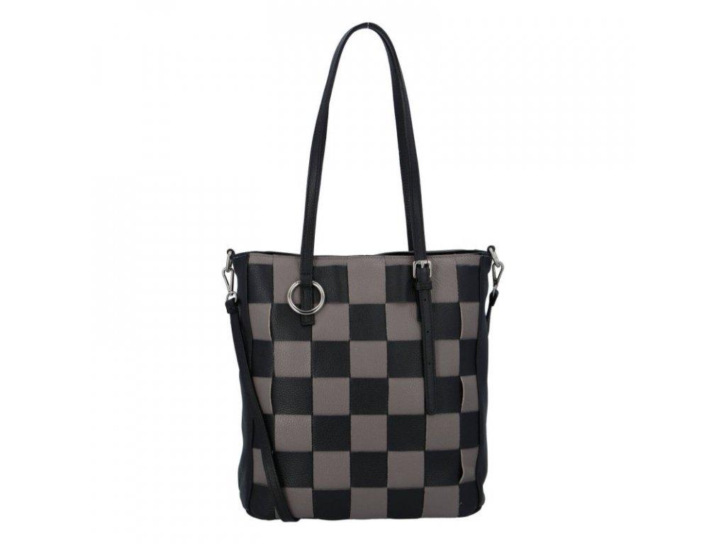 Chess game dámská kožená kabelka