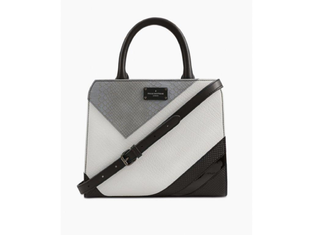 Pauls Boutique London kabelka černo bílá