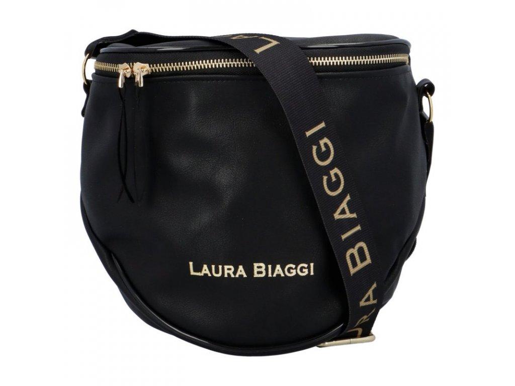 Laura Biaggi crossbody černá