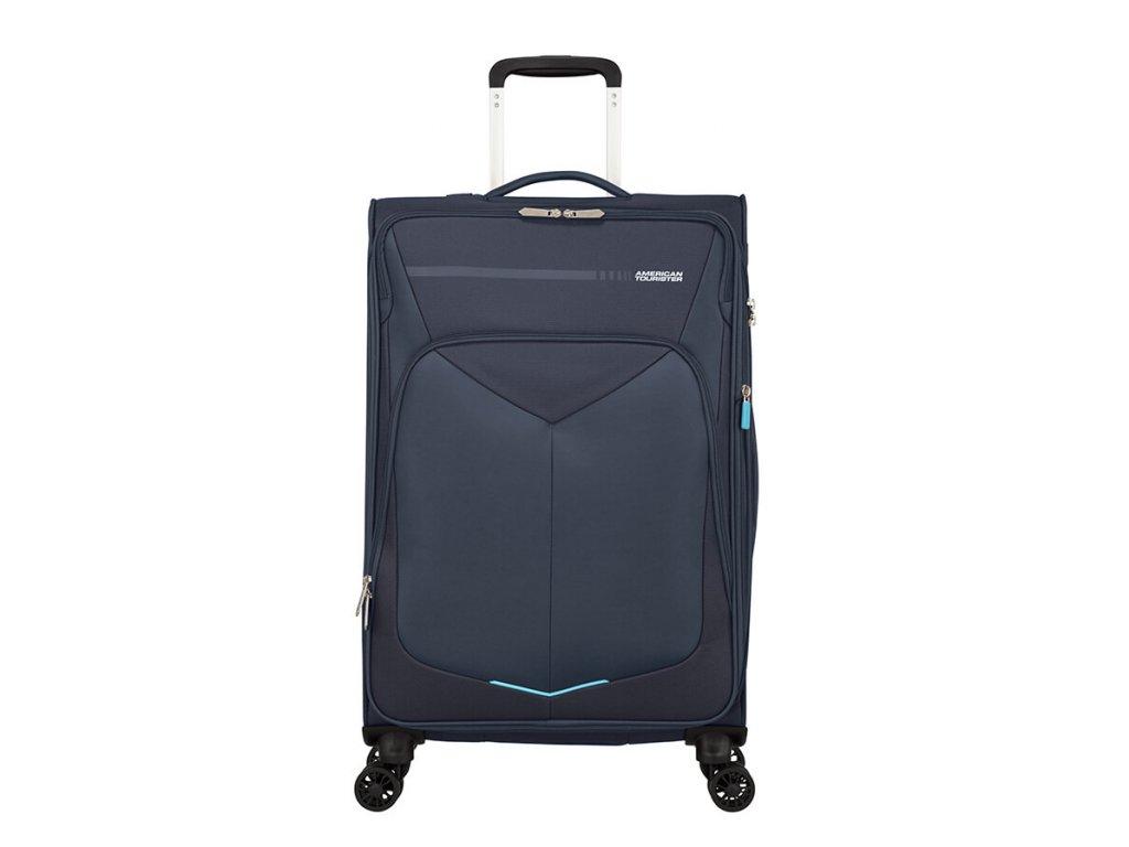 Střední kufr American Tourister SUMMERFUNK modrý